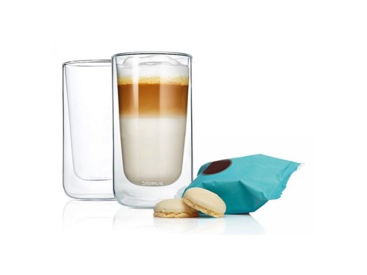 Blomus Nero Szklanki Termiczne Do Kawy Latte 320 Ml Szklanki