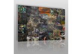 Miejska galeria - nowoczesny obraz na płótnie