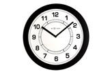 Zegar ścienny Nextime Super Slim kod: 3045ZW - do kupienia: www.superwnetrze.pl