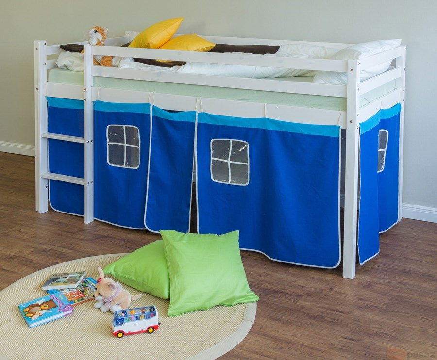 łóżko Piętrowe Drewniane 90x200 łóżka Piętrowe Zdjęcia