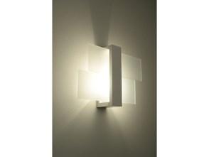 Lampa ścienna w stylu skandynawskim Designerski Kinkiet FENIKS 1 w kolorze białym