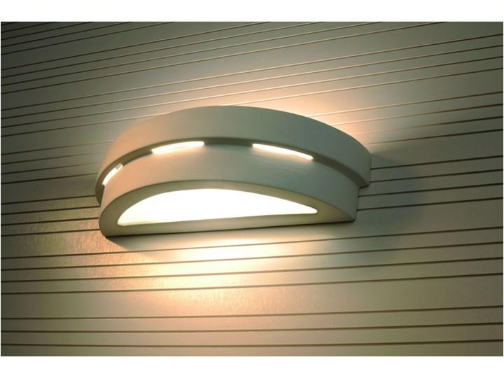 SOLLUX Efektowna lampa ścienna półokrągły kinkiet ceramiczny HELIOS Ceramika Kinkiet łazienkowy Szkło Kinkiet LED Kinkiet dekoracyjny Kategoria Lampy ścienne