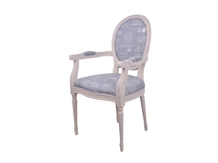 Krzesło Drewniane Z Obiciem 55x46x94 Beż