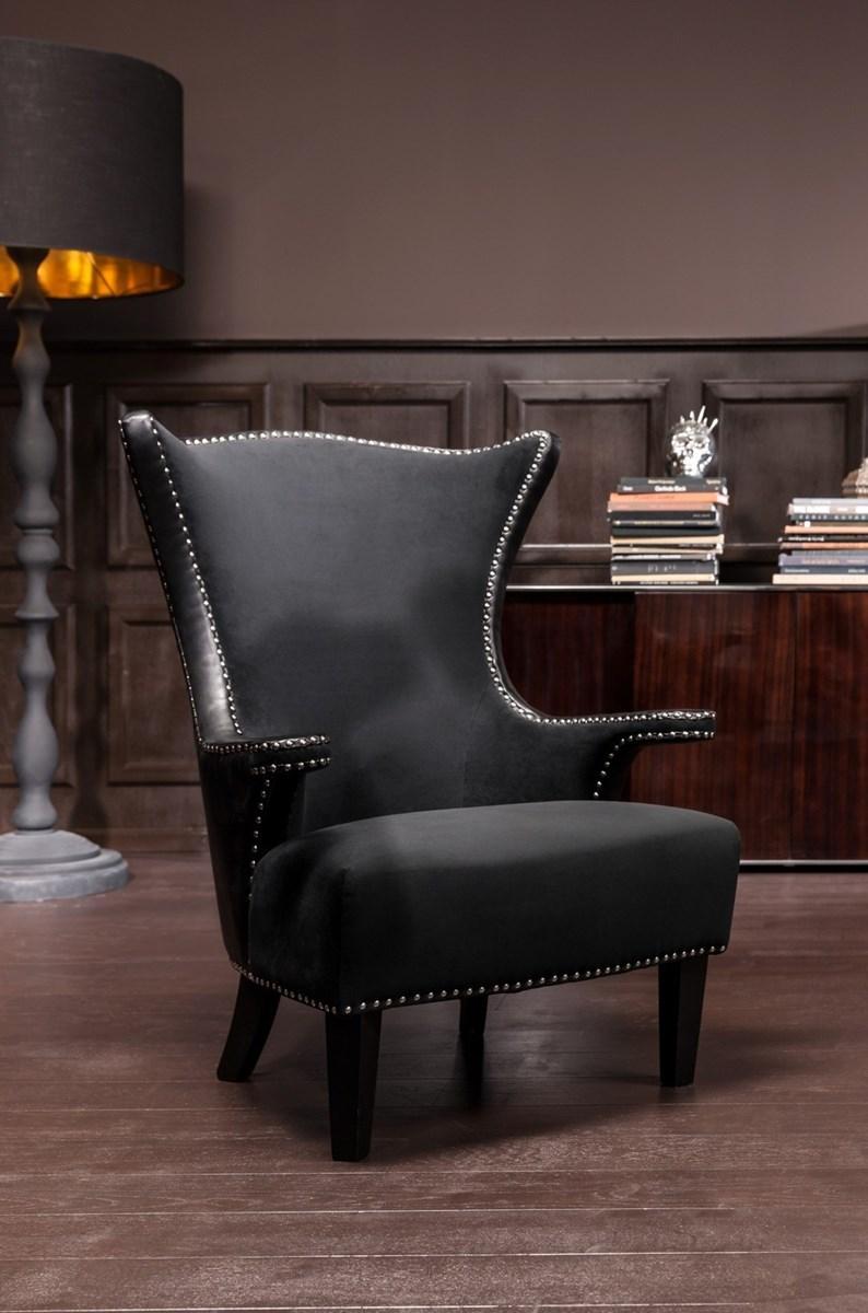 Kare design fotel rivet black fotele zdj cia pomys y inspiracje homebook Kare fotel