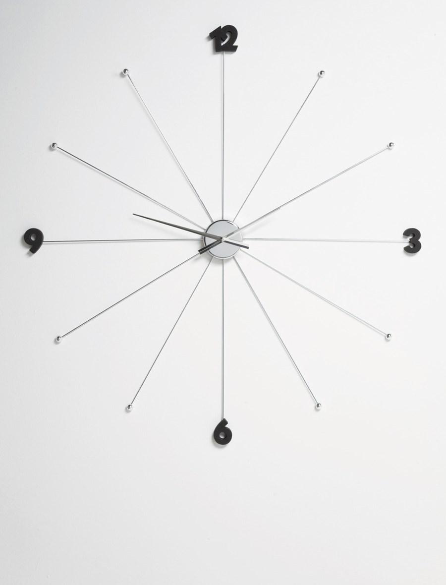 Kare Design Zegar Like Umbrella Chrome Zegary Zdj Cia Pomys Y Inspiracje Homebook