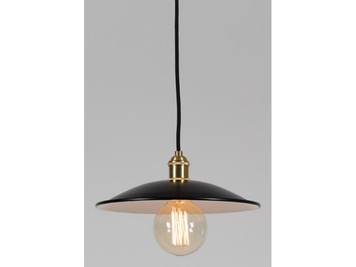 Lampa EPIC LIGHT z kloszem dużym, czarna Czarny Z żarówką (+ 39,90 zł)