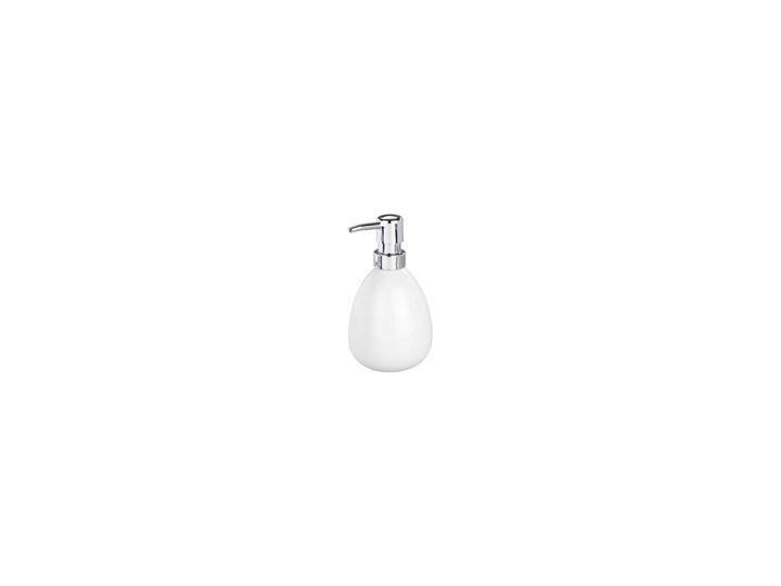 Dozownik do mydła POLARIS WHITE, WENKO Dozowniki Ceramika Tworzywo sztuczne Styl klasyczny