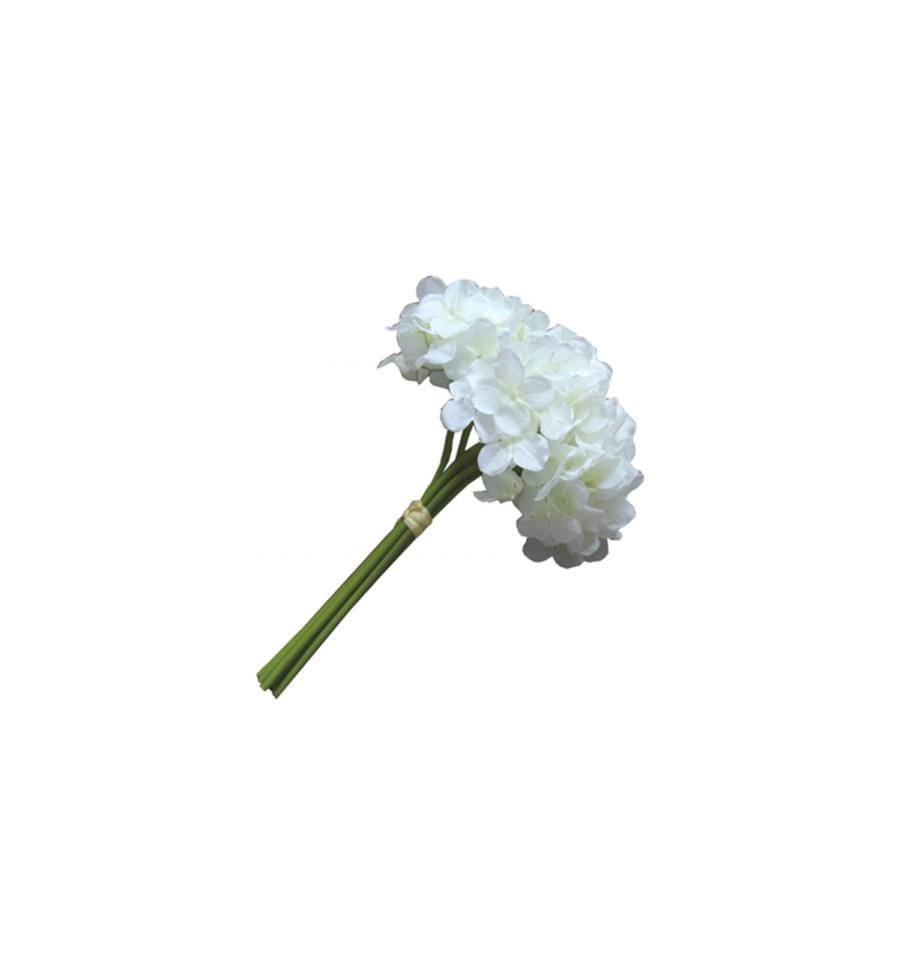 Bukiet Hortensja Biała Sztuczne Kwiaty Zdjęcia Pomysły