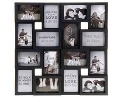 Ramka na zdjęcia, 16 zdjęć - galeria, kolor czarny