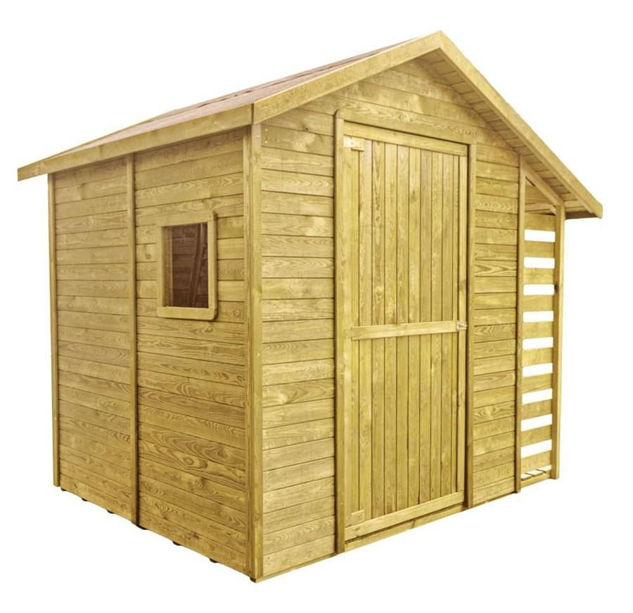 Domek z drewutni altany ogrodowe zdj cia pomys y for Cobertizo leroy merlin