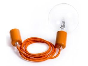 Loft metal line - 03 kalifornijska pomarańcza lampa wisząca