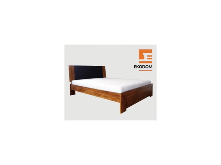 łóżko Drewniane Gotland Rozmiar 160x200 Szuflada Cała Długość łóżka Kolor Wybarwienia Miodowy