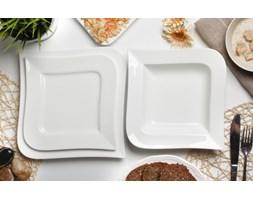 Serwis obiadowy AMBITION FALA na 6 osób (18 el.)-- biały