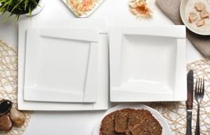 Serwis obiadowy AMBITION KUBIKO na 6 osób (18 el.)