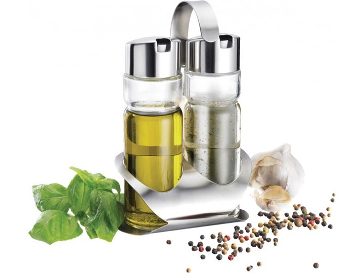 Przyprawnik WESTMARK 65042260 Stal nierdzewna Szkło Zestaw do przypraw Pojemnik na ocet i oliwę Kategoria Przyprawniki