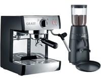 GRAEF Zestaw do kawy GRAEF Pivalla Set (Ekspres ES 702 + młynek CM 702)