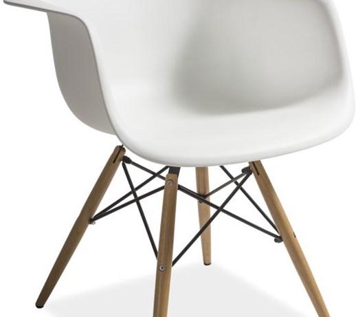 Krzesło MONDI insp EAMES Signal, białe  Krzesła kuchenne