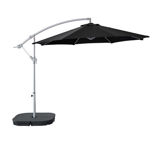 beautiful karls svart parasol wiszcy z podstaw ikea with ikea parasol balkon with ikea parasol. Black Bedroom Furniture Sets. Home Design Ideas