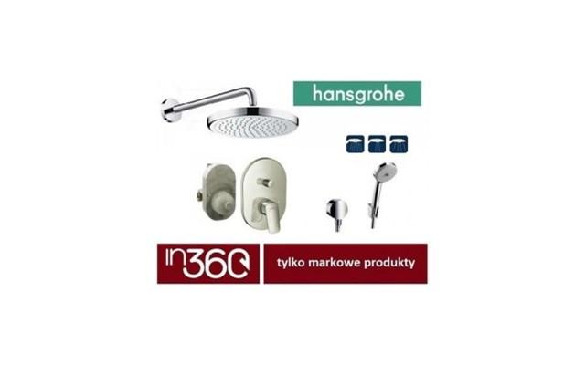 Hansgrohe Logis Bateria Zestaw Prysznicowy Podtynkowy Deszczownica