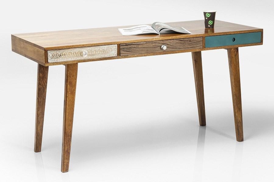 Kare Design Biurko Babalou 150x70cm 3 Szuflady Biurka Zdj Cia Pomys Y Inspiracje Homebook