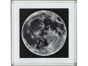KARE Design :: Obraz Mirror Moon View 80 x 80cm