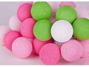 Cotton Ball Lights :: Spring 20 kul