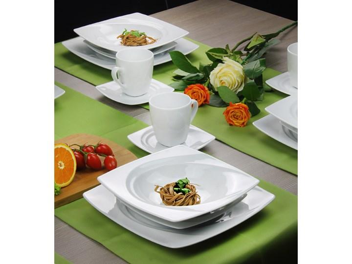 Serwis Obiadowo Kawowy Lubiana Celebration Bialy 630 Elem Z