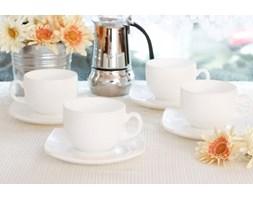 Serwis kawowy QUADRATO BLANC na 6 osób (12 el.)