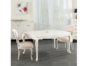 Dekoria Stół Dorothee rozkładany 140/190x90x76cm, white, 140-190x90x76cm