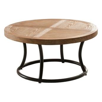 Stolik okrągły Kendari natural 90cm, 90 × 46 cm