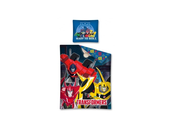 Pościel Transformers roboty 140x200