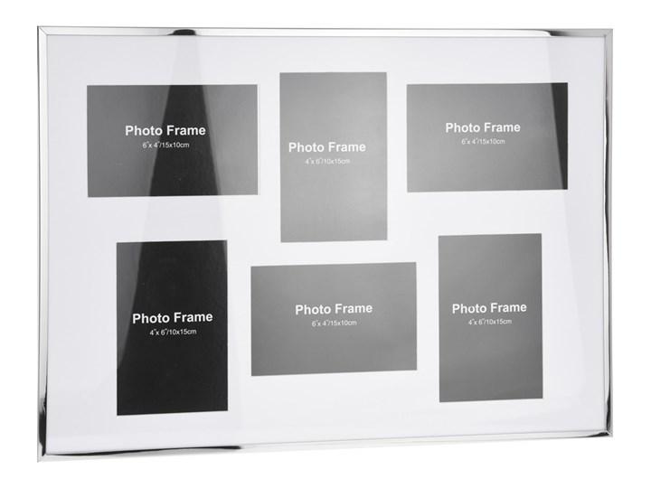 Metalowa ramka na 6 zdjęć, do zdjęć - galeria foto Multiramka