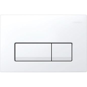 Przycisk spłukujący Geberit Delta51 biały 115.105.11.1 do UP100