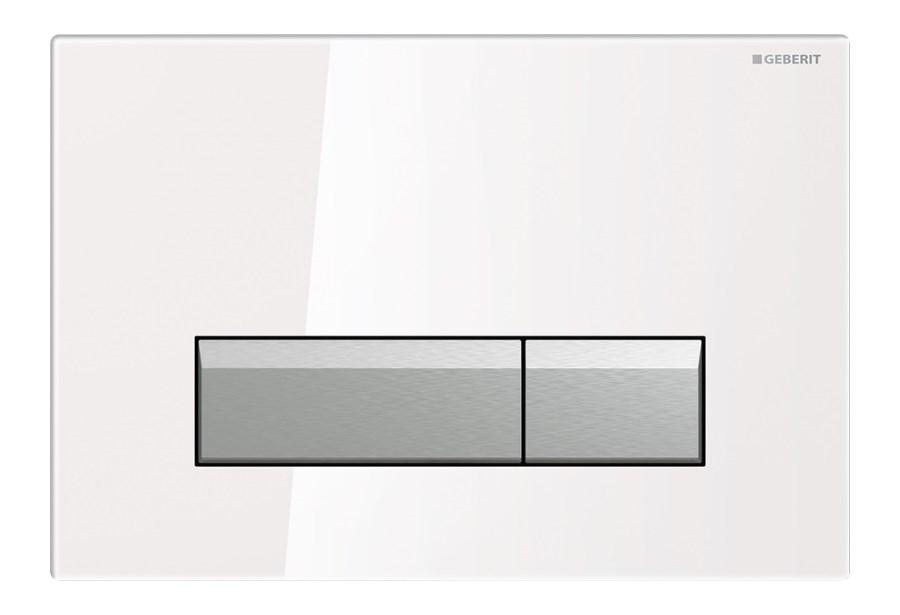 przycisk geberit sigma 40 bia e szk o do wc przyciski sp ukuj ce. Black Bedroom Furniture Sets. Home Design Ideas