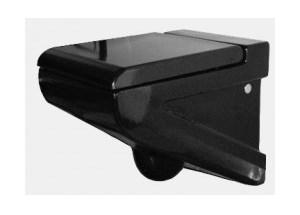 Miska Artceram La Fontana wisząca 36x54 cm, czarna LFV00103;00