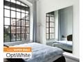 Lustro Modern SQ [Opti White] szkło Prostokątne Ścienne Styl nowoczesny