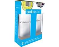 SodaStream 2x butelka, szary