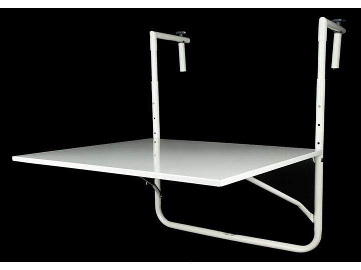 Stolik Balkonowy Zawieszany 60x53 Cm Biały