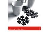 felt snow collection...