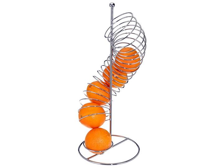 Stojak na owoce Spirala - ze stali nierdzewnej