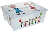 Pudełko na zabawki KIDS - pojemnik z pokrywą