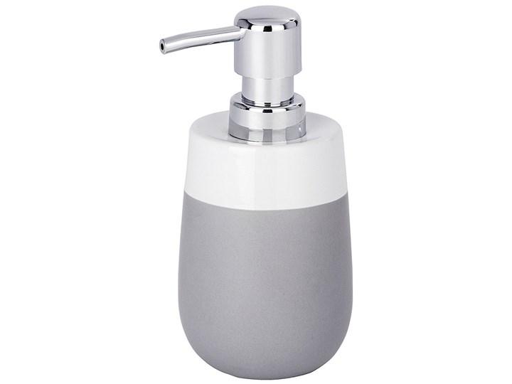 Dozownik do mydła MALTA GREY - 290 ml, WENKO Dozowniki Styl klasyczny