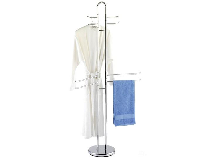 Stojak na ręczniki, ubrania PALERMO - 8 ruchomych ramion, WENKO Wieszaki na ręczniki Poczwórny Wolnostojący Stal Tworzywo sztuczne Styl klasyczny
