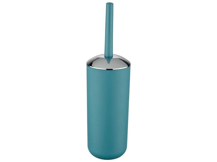 Pojemnik na szczotkę BRASIL, turkusowy + szczotka WC, WENKO Tworzywo sztuczne Wolnostojące Styl klasyczny