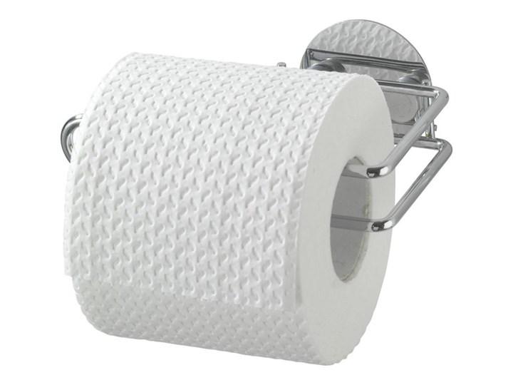 Uchwyt na papier toaletowy, Turbo-Loc - stal chromowana, WENKO stal nierdzewna metal Tworzywo sztuczne Styl klasyczny