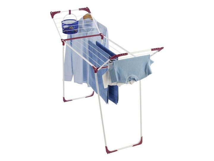 Suszarka SUMMER na pranie - rozkładana, wolnostojąca, WENKO Klasyczne metal Nawannowe Styl nowoczesny