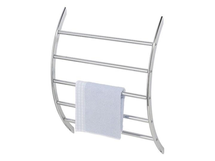 Wieszak na ręczniki EXCLUSIVE - stal chromowana, WENKO Powyżej czterech ramion Ścienny Wieszaki na ręczniki metal