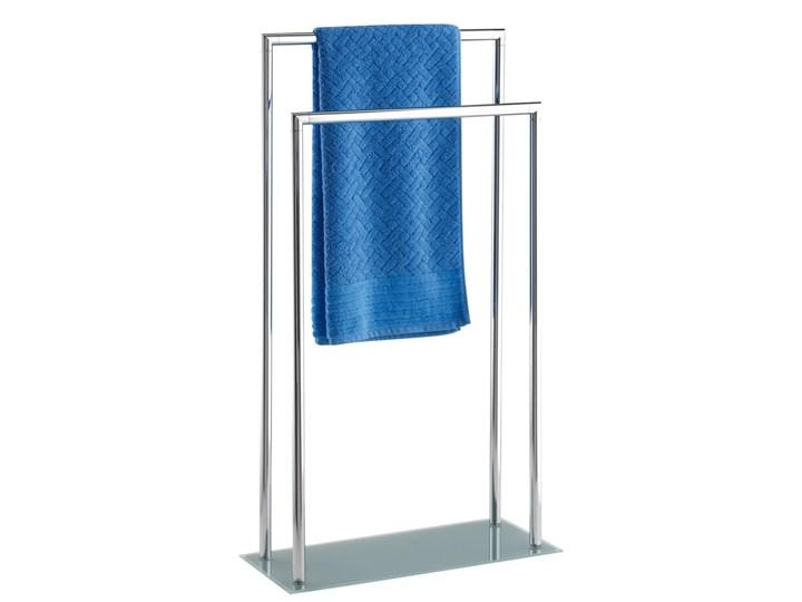 Stojak na ręczniki STYLE - 2 ramienny, chromowany, WENKO