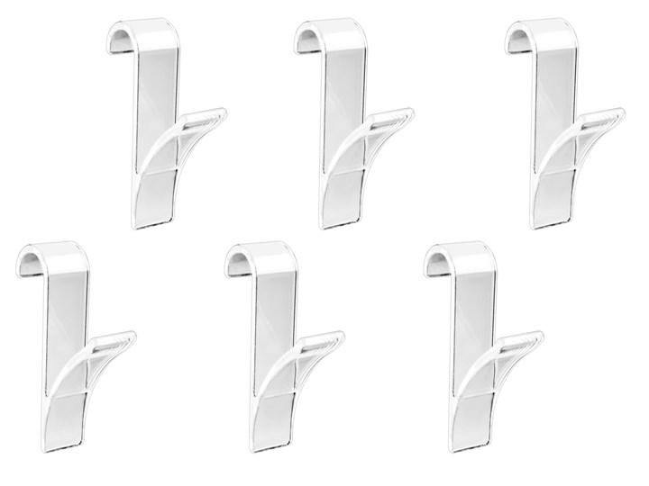 Haczyki - wieszaki na grzejnik żeberkowy do łazienki, 6 sztuk w komplecie, WENKO