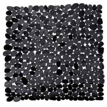 Antypoślizgowa mata do brodzika PARADISE - kolor czarny, WENKO
